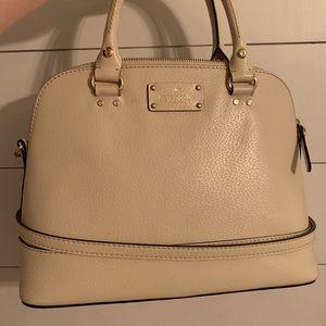 Kate Spade white leather purse